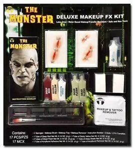 Tinsley Deluxe Makeup Kit - The Monster, Special FX Frankenstein Costume