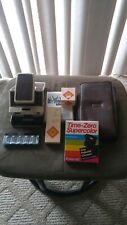 Vintage Polaroid Sx-70 Land Camera (1970s) + Case,Accessories & Film bundle Look