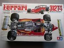 Tamiya Vintage 1:12 Big Scale Ferrari 312T4 Model Kit New Villeneuve / Scheckter