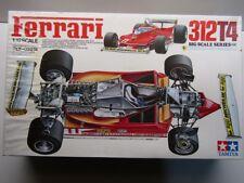Tamiya Vintage 1:12 Big Scale Ferrari 312T4 Model Kit New Villeneuve / Scheckter