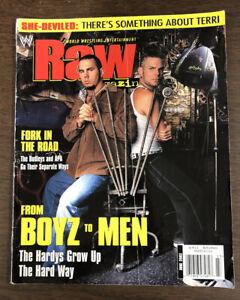 WWE Raw Magazine June 2002 The Hardy Boys Dudley Boyz APA With Terri Poster