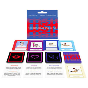 Lust! Adult Card Game | Naughty Game for Couples | Travel Size | Kepher Games
