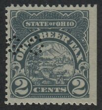 OHIO State Revenue Beer Tax Stamp SRS OH B6S