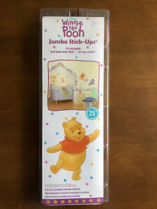 Priss Prints~Jumbo WINNIE THE POOH Wall Decal / Stickers decoration babies room