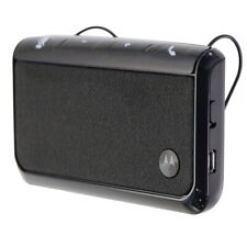 Motorola Car Speaker (TX500) for Hands-Free Calls with Visor Clip - Black