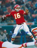 Len Dawson Autographed Signed 8x10 Photo ( HOF Chiefs ) REPRINT