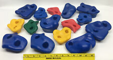 Plastic Climbing Rock Wall Hand Holds Only 15pcs