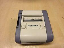 Toshiba TEC B-SP2D B-SP2D-GH40-QM-R Portable Barcode Label IMPRIMANTE + BATTERY