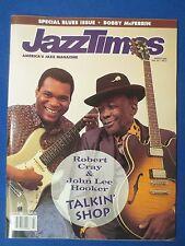 JAZZ TIMES MAGAZINE MARCH 1992 ROBERT CRAY JOHN LEE HOOKER BOBBY MCFERRIN BLUES