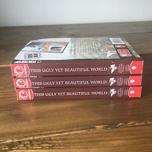 This Ugly Yet Beautiful World Manga Books 1-3 1 2 3 Good Condition Tokyopop