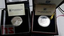 Malaysia 50th Merdeka & Muzium Single Silver Proof Coin Radar same series no.171