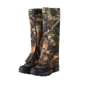 Waterproof Snow Hiking Gaiters Cover Anti Bite Snake Guard Leg Protection BD