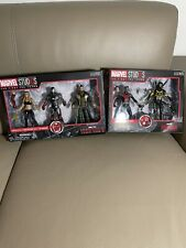 marvel legends first 10 years iron man 3 pack and ant man yellow jacket lot