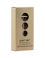 Parker Semi-Slant Satin Double Edge Safety Razor