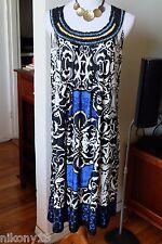 NWT Plus Size Designer RARE Forever Woman/HAANI Sleeveless Dress, 1Х