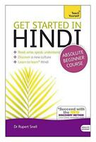 Get Started in Hindi: Teach Yourself by Snell, Rupert Paperback Book 9781444
