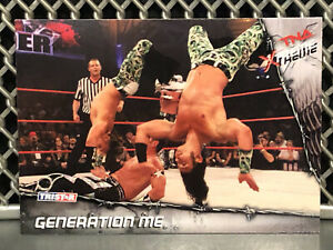 2010 TNA Extreme Gen Me WWE Wrestling Card AEW Young Bucks The Elite NJPW ROH Dx