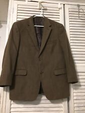 Suit Jacket Blazer Brown Mens Regular 42