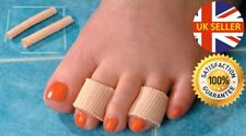 2 Pack Gel Toe Protectors Blister Corn Calluses Comfort Pain Relief Cut To Size
