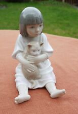 """Nao by Lladro   """"Cuddles""""   #1210"""