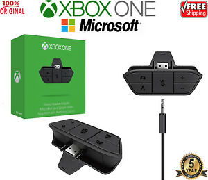 New OFFICIAL Microsoft XBOX ONE Stereo Headset Adapter (Original OEM)