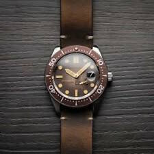 Automatic Spinnaker 5058 NEW Brown Croft Men's Automatic Watch Rare Leather 43mm