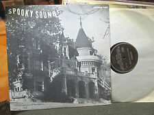 Halloween Spooky Sounds Sound Effects RARE 1962 private press Vinyl LP THEREMIN!