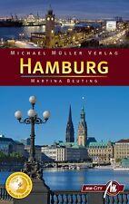 HAMBURG Michael Müller Reiseführer 08 Stadtführer MM-City Handbuch Elbe NEU