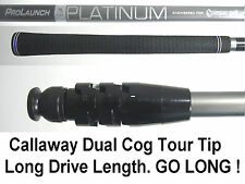 Grafalloy Platinum Senior Long Drive Shaft+Callaway Tip;X-hot+Razr Fit+Xtreme