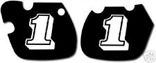 YAMAHA 1981-1982 YZ60 SIDE COVER DECALS GRAPHICS