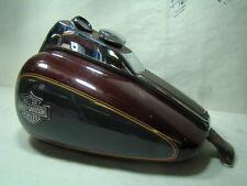 Harley FXR gas fuel tank + dash + gauge + cap FXRT FXRP FXRS FXRD black EPS16199