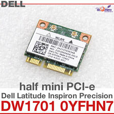 Wi-Fi WLAN WIRELESS card network card FOR DELL MINI PCI-E DW1701 0YFHN7 NEW D11