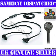 NEW IN EAR HEADPHONE EARPHONES WITH MIC + REMOTE FOR HTC DESIRE HD AND WILDFIRE
