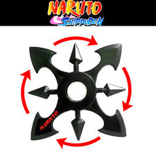 Anime Naruto Ninja Sasuke Shippuud Hand Spinner Alloy Shuriken Cosplay Prop Toy