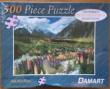 New Damart Alps in Spring Worlds Most Beautiful 500 Piece Jigsaw