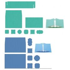 Lifestyle Crafts QuicKutz Mini & A7 Die Invitation Card Note L-CC-025 L-CC-029