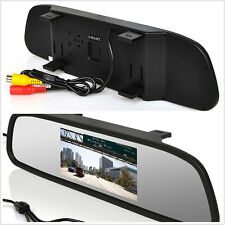 "4.3"" Color LCD SUV Rear View Mirror Monitor DVD VCD Display For Reversing camera"