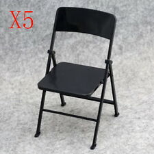5pcs 1/6 Scale Action Figure Folding Chair for Barbie Toys the Ultimate Soldier