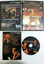 Lost In Translation. L'amore tradotto (2002) DVD