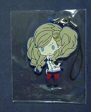 PERSONA 5 P5 Rubber Strap Key Chain ANN Official Super RARE NEW!