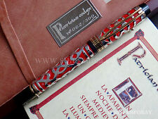 WATERMAN MAN 100 PATRICIAN CODEX LIMITED EDITION RED N°062/300 FOUNTAIN PEN F
