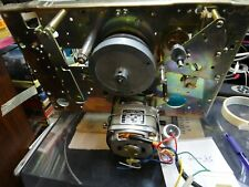 AKAI 4000DS CAPSTAN MOTOR, BELT, ROLLER AND CHASSIS PARTS AS 1 LOT