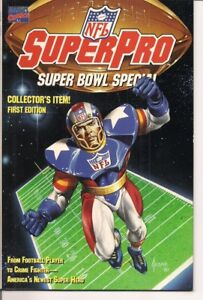 NFL SuperPro Comic by Marvel Comics (1991)