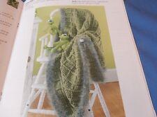 25 Knit Crochet Patterns Wrap/Shawl Poncho Baby Afghan/Blanket Dog Jacket/coat