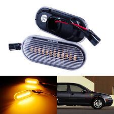 Jaune LED Feu Clignotant Répétiteur Pour Seat Leon Toledo 1M Ibiza 6L Octavia VW