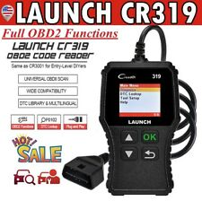 LAUNCH X431 Creader CR319 Car Automotive OBD2 EOBD OBD II Code Reader Diagnostic