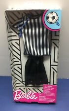 Barbie: Ken Career Fashion 2 - Referee Uniform by Mattel Nib! Bam 💥