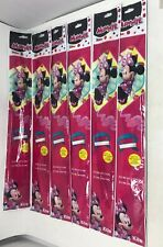 Lot Of 6 22 Inch Poly Diamond Kites Disney Minnie Mouse Party Favors