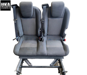 2013-2015 FORD TRANSIT CUSTOM MINIBUS DOUBLE REMOVABLE FOLDING SEAT #2