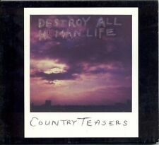 COUNTRY TEASERS 'Destroy All Human Life LP crypt headcoats gories mighty caesars